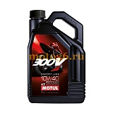 Масло 4T Motul 300 V мото FL SAE 10w40 Road Racing 4л
