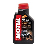 Масло Motul  ATV SXS Power Quad 4T квадроц. 10w50 (синт) 1л